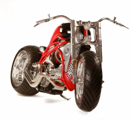 commercial photograph of bespoke motorcycle in Chelmsford Essex
